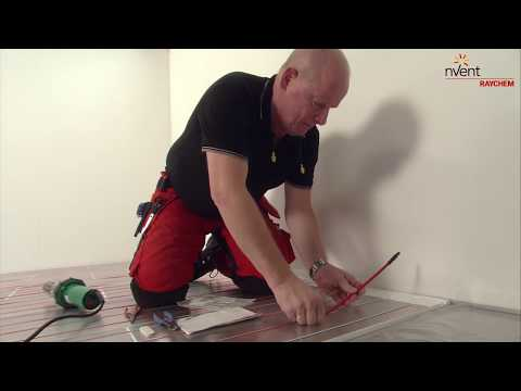 RAYCHEM T2Red + T2Reflecta Floor Heating Installation Guide for Wood & Laminate Floors (German)