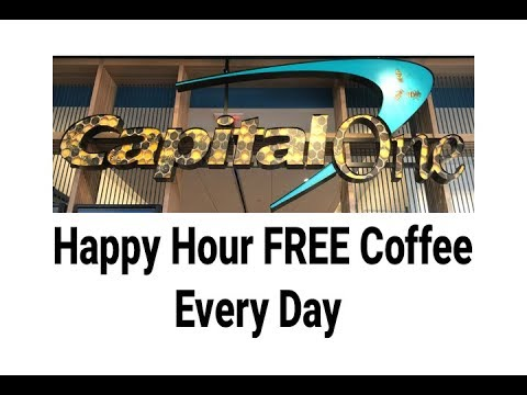 Capital One Cafe Happy Hour Free Coffee Time Lynnfield Market Place For the Month of March