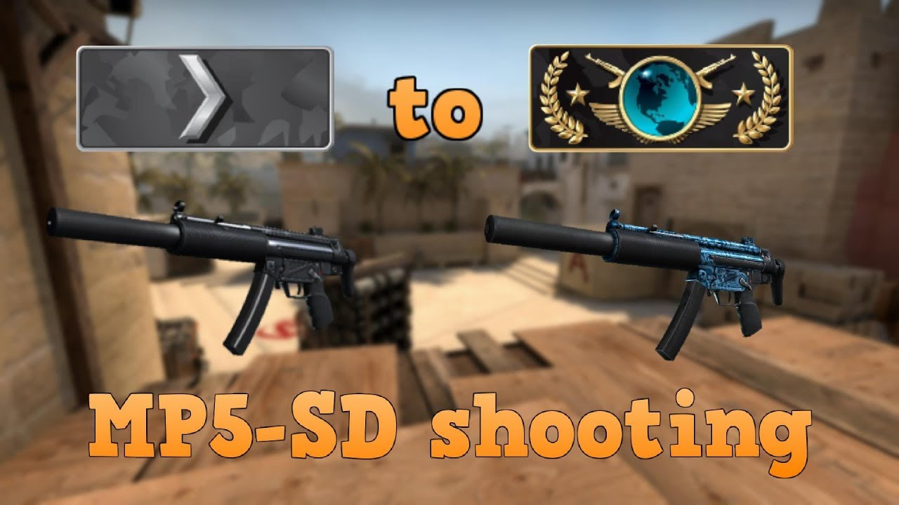 Download Silver 1 to Global Elite ★ MP5-SD shooting CSGO