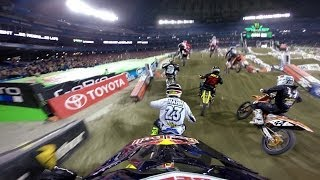 GoPro: James Stewart 14th to 1st – 2014 Monster Energy Supercross Toronto