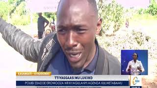 Poliisi ekubye ttiyagaasi lwa bakansala kuyita Bobi Wine alwetabemu