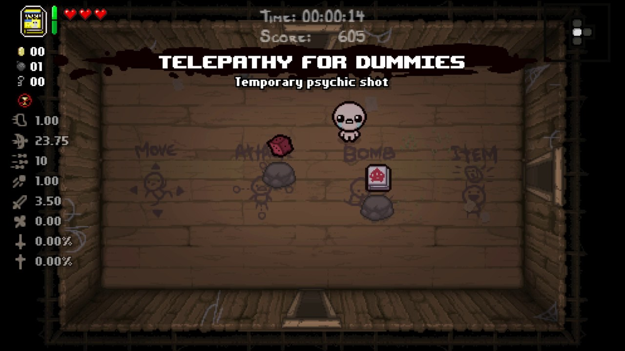 The Binding Of Isaac Mod Library Card Youtube