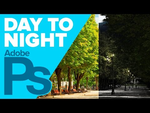 How To Turn Day Into Night In Adobe Photoshop