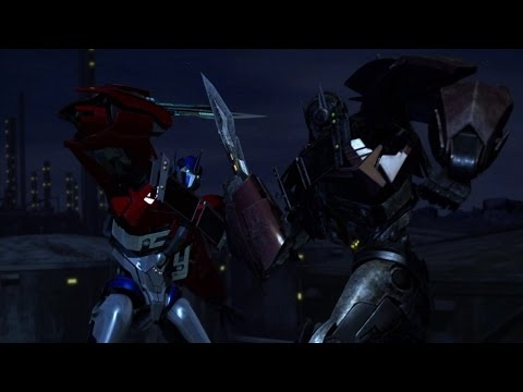 "Transformers Prime : Optimus Prime and Nemesis Prime | ""It's not me it's you""  