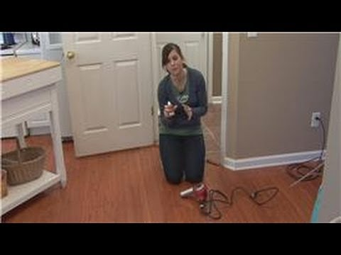 Delightful Cleaning Tips : How To Remove Glue From A Hardwood Floor   YouTube