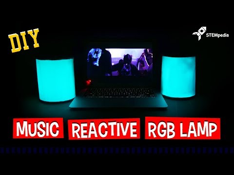Easy! How to Make Your Own Music Reactive RGB Lamp | DIY Projects