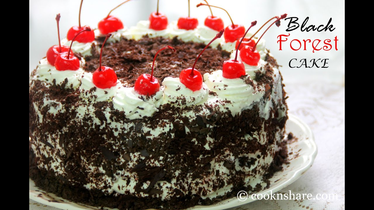Black Forest Cake - YouTube