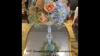 Shabby Chic Wedding Centerpiece Under $30