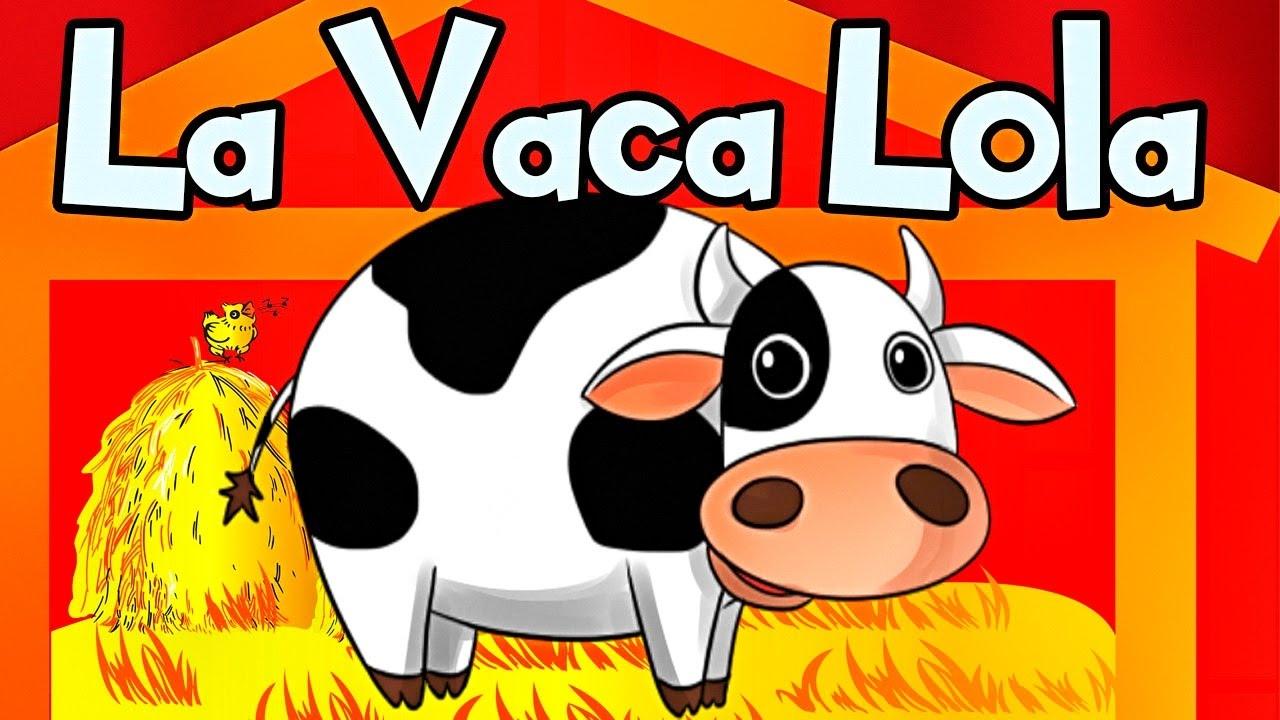LA VACA LOLA canciones infantiles de la granja - Videos Infantiles - Lunacreciente