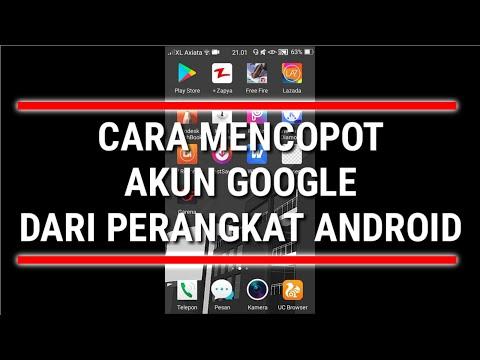 Cara menghapus akun google di HP xiaomi | Hapus akun gmail.