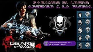 """Gears of War 4 l Road to 50 l Sacando el logro """" Ascenso a la Gloria """" Clase Soldados l 1080p Hd"""