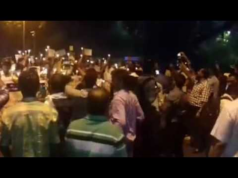 Jantar mantar rally for shahabuddin