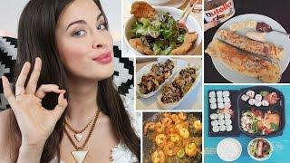 FOOD DIARY #11: Meine Ernährung | EINE WOCHE | Vegetarisch bis Fast Food