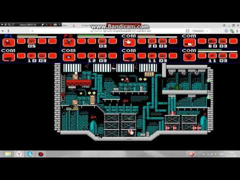 Копия видео игры на двоих(супер бойцы)