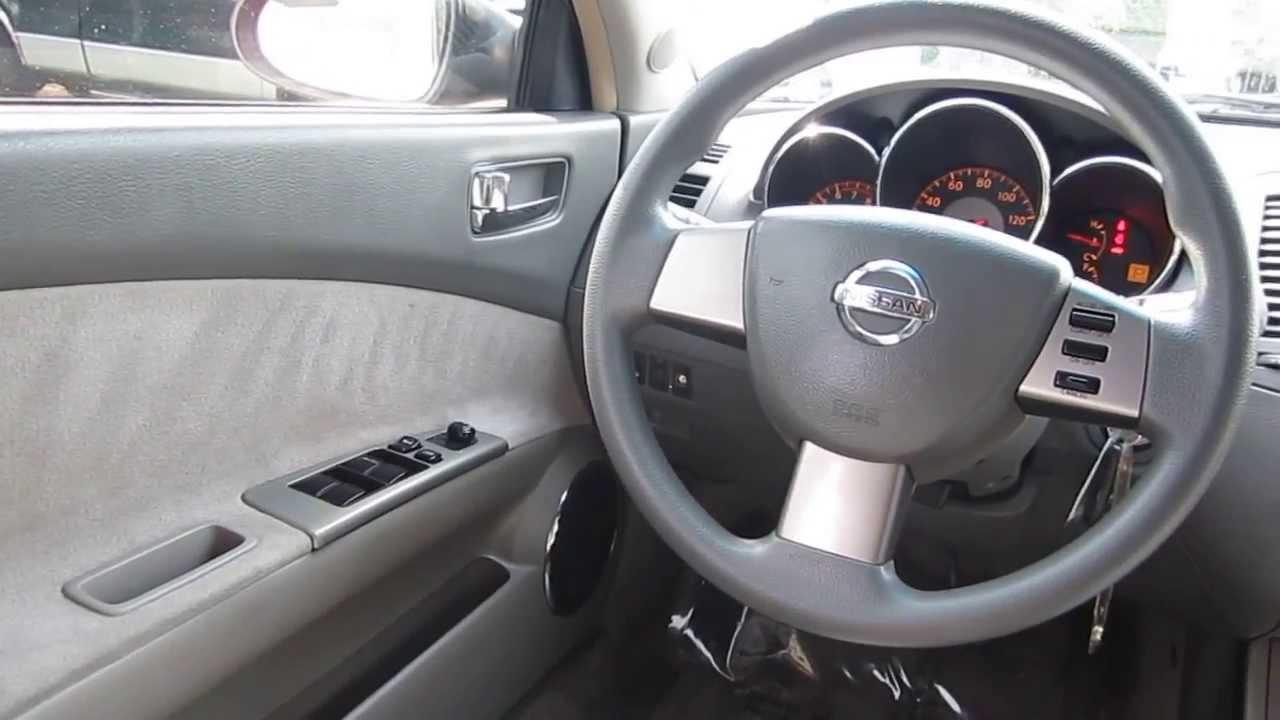 Charming 2005 Nissan Altima, Beige   STOCK# 13702B   Interior