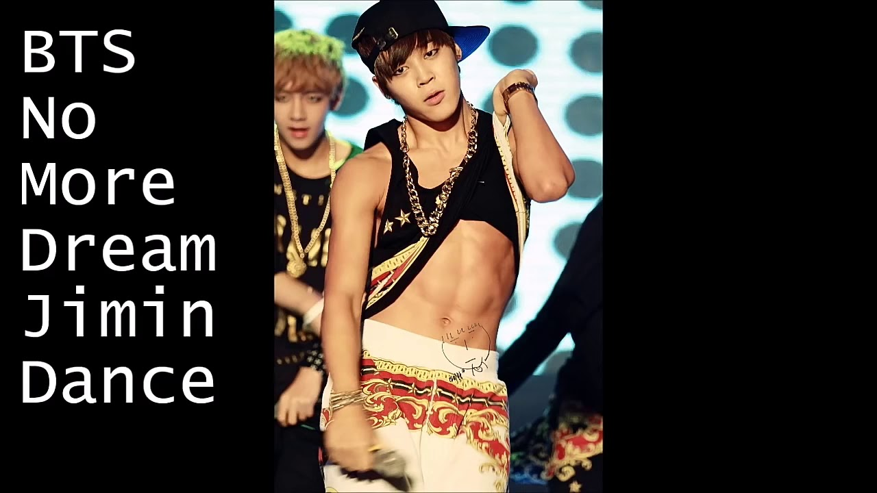 Jimin Bts 지 민 No More Dream Abs Youtube