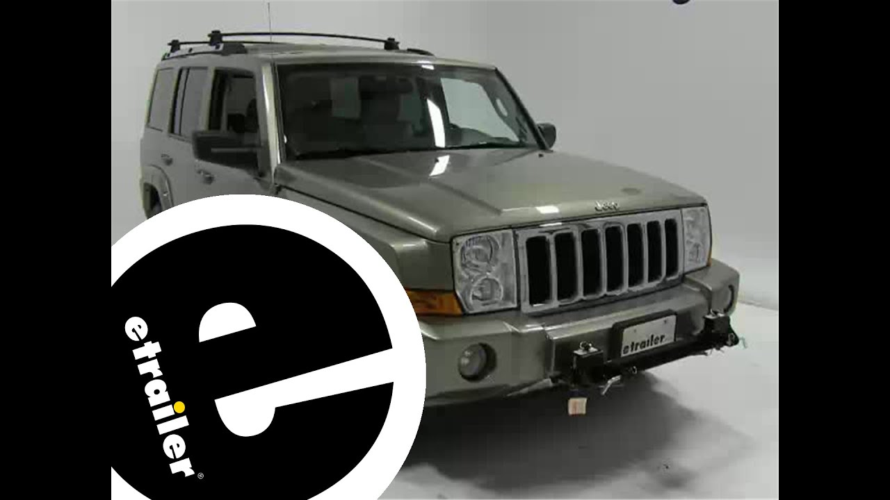 hight resolution of roadmaster base plate installation 2006 jeep commander etrailer com