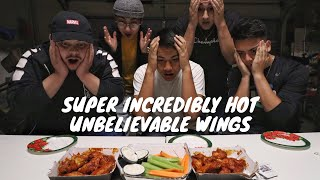 Blazin Hot Fire Wing Challenge! (Buffalo Wild Wings)