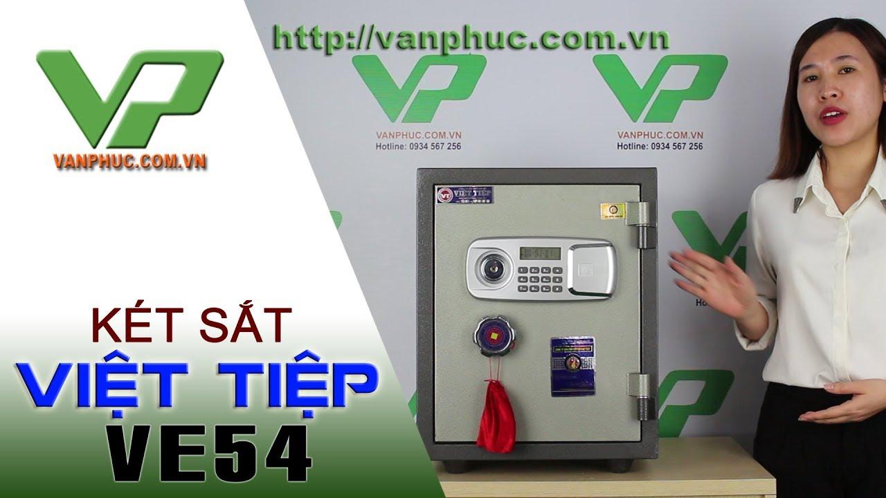 Két sắt Việt Tiệp điện tử VE54 Chính Hãng, Báo Trộm