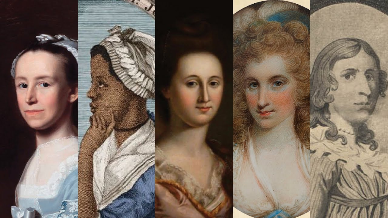 The Founding Mothers of the USA, 4: Five More Great Women
