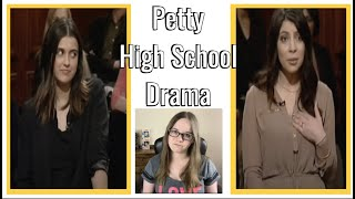 Petty High School Drama Ends In Someone Being Sued | Court Case React