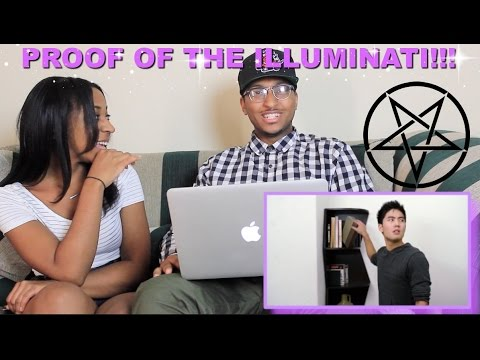 Couple Reacts : Proving the Illuminati is Real By NIgahiga Reaction