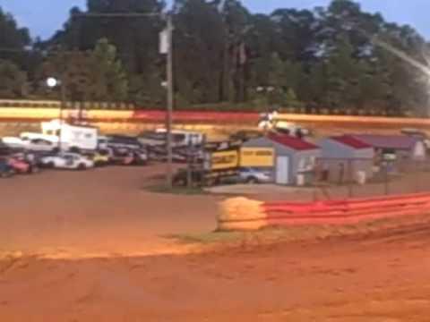 Rebecca Durham Gets A Little Bit Sideways at East Lincoln Speedway