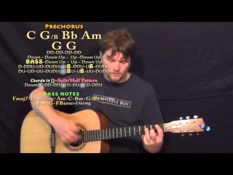 Drinkin' Me Lonely (Chris Young) Guitar Lesson Chord Chart