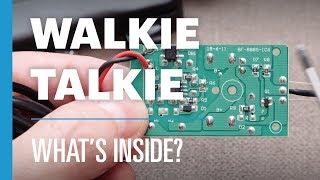 Inside A Walkie-Talkie | What's Inside?