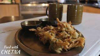 How to make Onion pakora/bhajji - Food with Chetna