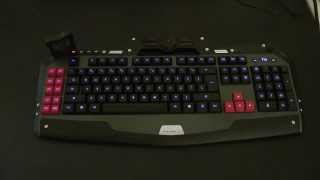 Klawiatura dla gracza Delux T15 BLUE LED - rzut okiem