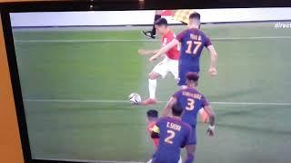 But REFUSÉ pour Monaco  de Falcao finale contre PSG