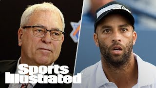 Knicks & Phil Jackson Part Ways, James Blake On NYPD, Serena Williams | LIVE | Sports Illustrated