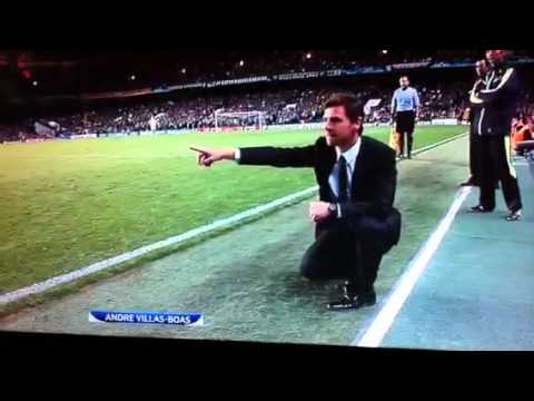 More Andre Villas Boas Moves and Celebrations