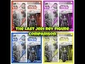 The Last Jedi Rey figure comparison