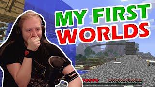 Exploring my old Minecraft World Saves!