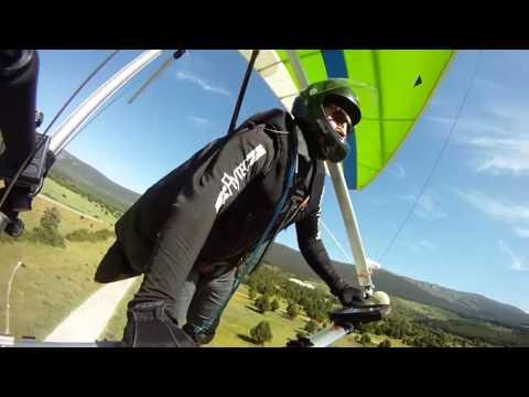Ala Delta - Despegues y Aterrizajes 2016 - Hang Gliding