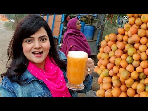 Orange Juice On The Highway   Jalandhar Vlog