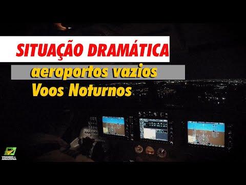 Situação Dramática Nos Aeroportos...Voo Noturno Na Amazônia Um Desafio   Tabatinga X Manaus