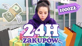 ROBIĘ ZAKUPY PRZEZ 24h! | Sylwia Lipka