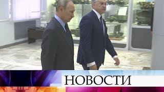 Владимир Путин прибыл на«Алмаз-Антей», там проходит заседание Военно-промышленной комиссии.
