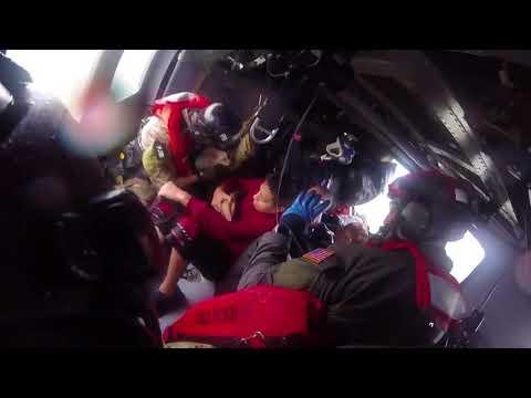 New York Air National Guard Hurricane Harvey Rescues