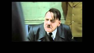 Hitler original bunker scene (original German subtitles)