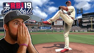 Trying Out The Newest Baseball Game! R.b.i. Baseball 2019 Gameplay