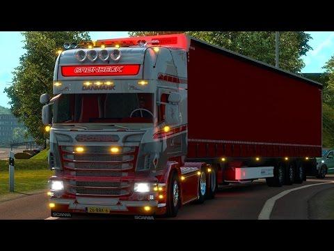 LIVE | Euro Truck Simulator 2 | Test-DLC Heavy Cargo Pack