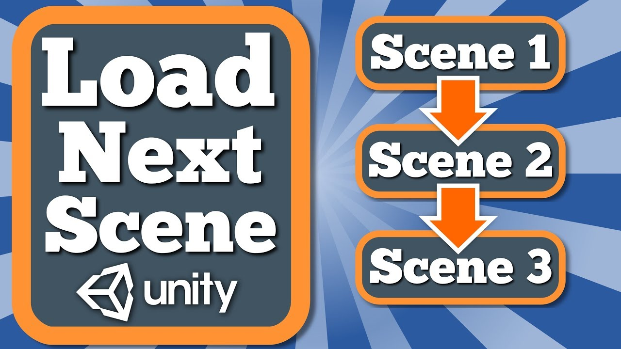 Unity Tutorial How To Load Next Or Previous Scene In Your Game Using Some  Triggers And Scene Manager