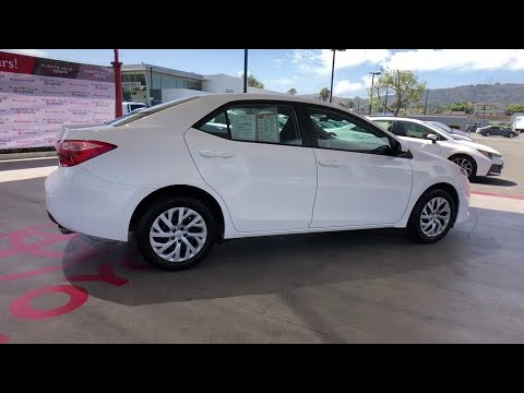 2019 Toyota Corolla at Puente Hills Toyota. Servicing Claremont, West Covina, Diamondbar, Rowland He