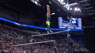 Gabby Douglas - Uneven Bars - 2012 Visa Championships - Sr Women - Day 2
