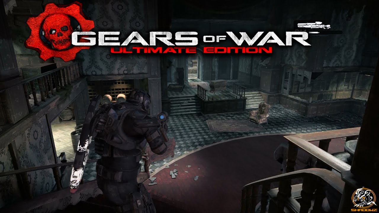 Gears of War: Ultimate Edition - Mansion Gameplay on Execution! (XBOX ONE)