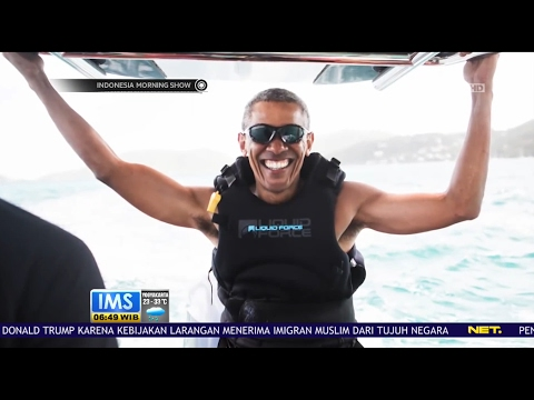 Download Viral, Obama Liburan di British Virgin Island